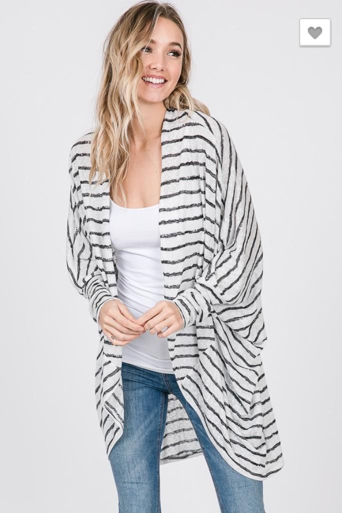 b0b05a14dad2 Stripe Me Up Dolman Cardigan – IBH Creations & Boutique